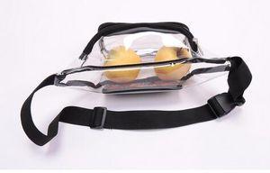 19 20 Clear Purse Stadium Approved Tasche der Frau mit Reißverschluss und Schulterriemen