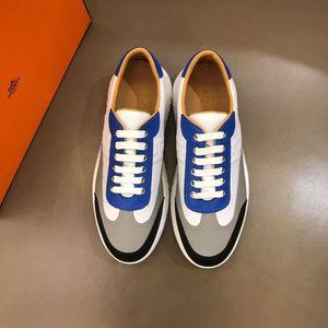 2020 Yeni Lüks TasarımcıMarkaHermesH Sneakers Üst Mischpalette Moda Erkekler Rahat Rahat Düz ayakkabı yüksek ayakkabılar RD