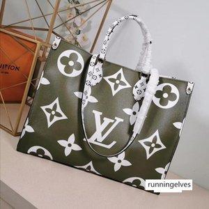 Onthego Monogram designers handbags genuine leather Onthego women fashion totes high quality L flower designers handbag purse drop ship