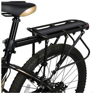 XC Ushio VTT Vélo Cargo Porte-vélos en aluminium Porte-bagages VTT Vélo VTT Route vélo Porte-bagages arrière Noir
