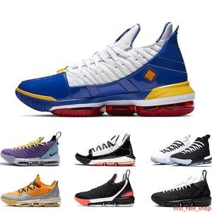 2019 Высокое качество мужской баскетбольной обуви 16 Oreo Remix SuperBron Hot Lava Четыре Всадника НАСЛЕДИЕ SAFARI MARTIN Sports snekaers тренеров 7-12