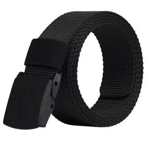 Army Mens Buckle Male Nylon Tactical Belt Automatic Belt Military Waist Canvas Belts Cummerbunds High Quality Strap 1 2G37
