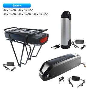 Ebike Lithium-Batterie 36V 48V Sumsang Handy mit Ladegerät für Mid Motor 250W 500W 750W 1000W Bafang Mid Elektro-Fahrrad-Kits