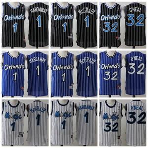 Vintage OrlandoMagicMen Tracy 1 McGrady Anfernee Penny 1 Hardaway Shaquille 32 O'Neal Bamba Aaron Gordon Basketball Jersey