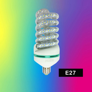 High Lumen espiral Led milho E27 5W 7W 9W 12W 18W 24W 32W Luzes LED Bulb Lampada Led Spot Light Home Decor