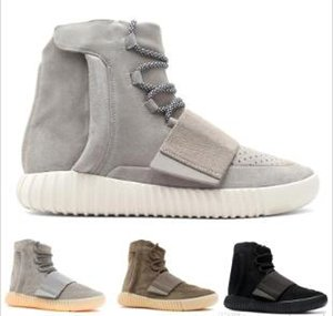 Mens 750 Blackout Im Freien Sneaker, Kanye West Schuhe Heiße verkauf Tubular Invader-Bügel 750, Skateboard-Schuhe, Sneakeheads Schuhgröße 40-45