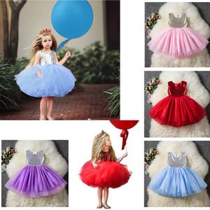 2019 Nuevo 4 colores niñas Princesa vestido Ropa de Halloween para niños Vestido de niña de flores de verano Cinderella Performance Wear