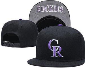 Rockies Hats For Man Женщина Snapbacks Бейсбольная Шапка Мужчины И CR Логотип Пикированная Шляпа Вышивка Шапки Лето Осень И Зима Tide Марка