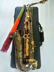 Nuova migliore qualità Yanagisawa A-991 d'oro Sax Alto Bocchino legature Reed collo Musical Instrument Accessori Sassofono E-Flat Black