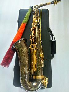 New Best Quality Yanagisawa A-991 Alto Saxophone E-Flat Black golden Sax Alto Mouthpiece Ligature Reed Neck Musical Instrument Accessories