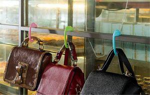 New Housekeeping MultiColor Bag Tote Handbag Hanger Purse Table Hook Earphone Holder