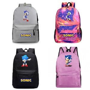 Beautiful Sonic The Hedgehog Backpack New Pattern Laptop Knapsack Beautiful Men Women Travel Bags Boys Girls School Free Shipping