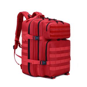 vendita calda camuffamento il sacchetto tattico di Molle Zaino 45L esterna impermeabile Zaino Mochila Trekking dell'esercito Zaino Camping Bagpack