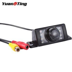 YuanTing Universal 12-24V IR Night Vision Waterproof HD CMOS Car Rear View Reverse Auto Backup Parking Camera For Monitor Radio