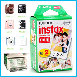 2020 Hot Fujifilm Instax Mini film for Instant Camera mini 8 90 8 25 7S 50s Polaroid Instant Camera 20 sheets