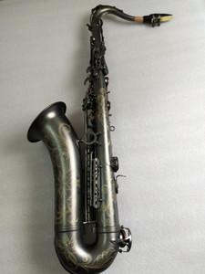 Strumento Suzuki Bb Tenor Saxophone musicale oro Sax Tenore boccaglio professionale di trasporto
