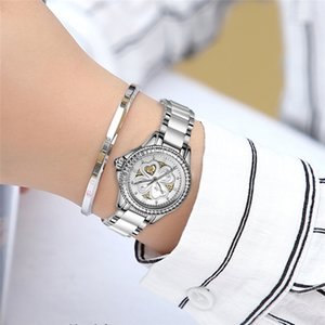 wholesale 2019 Woman Watches Top Brand Luxury Gold Ladies Watch Date Stainless Steel Band Classic Bracelet Female Clock Lover Gift