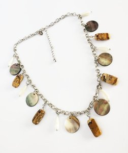 Hot Fashion Jewelry Vintage Necklace Picture Stone Shell Beads Necklace