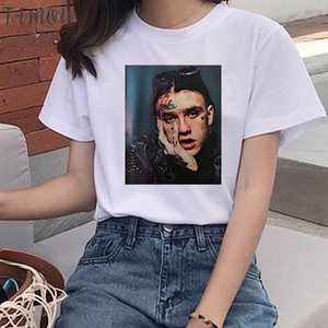 90S Graphic Lil Floral Peep Tshirt Harajuku Hip Hop T Shirts Women Cry Baby Ullzang Fashion T Shirt Hell Boy Streetwear Top