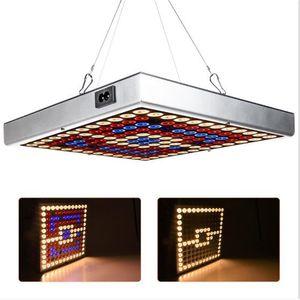 10pcs mise à niveau en gros 45W LED Panel Plant élèvent la lumière Full Spectrum UV IR hydroponique Croissance plantes à effet de serre Grow Tent Light