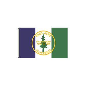 Flag of Palo Alto, California 150x90cm 3X5FT Custom Flags Outdoor Indoor Usage, for Festival Hanging Advertising