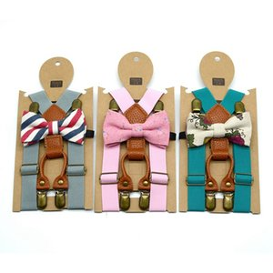 2019 New Children Cartoon Suspenders Baby Boys Girls Lovely Suspenders Clip-on Y-Back Braces Elastic Kids Suspenders Gift