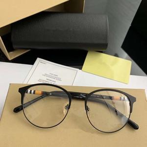 أحدث النجوم نمط BE1318 للجنسين جولة نظارات معدنية + لوح النظارات الإطار 51-19-145 لصفة النظارات fullupet التعبئة freeshipping