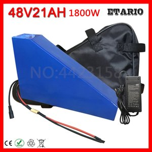 Free Customs Tax 1800W 48V 20AH Triangle Battery Lithium Pack use 3.7V 2600MAH 18650 cell With Bag 50A BMS