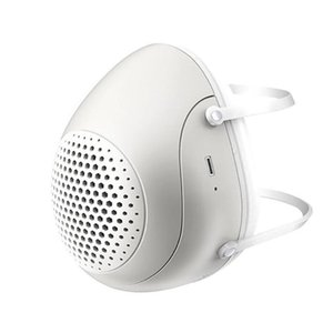 PM2. 5 пылезащитная маска Smart Electric Fan Mask Anti-Pollution Breathable Anti Smog пылезащитный открытый с 4 фильтрами
