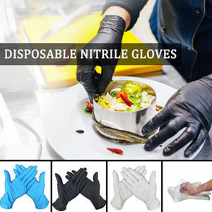 Disposable Nitrile Gloves S-L Kitchen Dishwashing Work Garden Protective Gloves Fruit Vegetable Plastic Gloves OOA8072