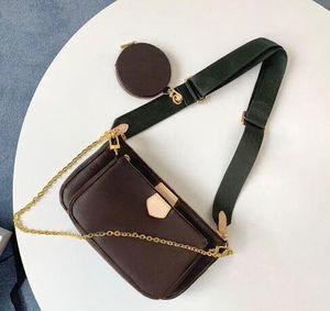 Vente 3 sacs mis en pièce les femmes sac à bandoulière sacs à main de luxe en cuir véritable sacs à main dame sacs fourre-tout Porte-Monnaie trois article