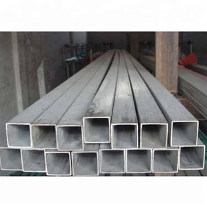 High quality GR2 GR9 titanium rectangular titanium square tube for industry Gr1 Gr2 Pure Titanium flat tube price for sale