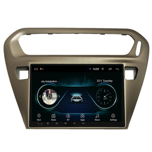 Android car mp3 mp4 player excellent bluetooth Resolution HD1080 display Resolution 1024 * 600 USB for peugeot 301 2014-2016 9inch
