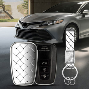 Heißer Verkaufs-TPU für Toyota Camry CHR Prius Prado 2016 - 2018 Aygo RAV4 Corolla 2018 Car Key Case 2/3 Knopf Shell Tasche