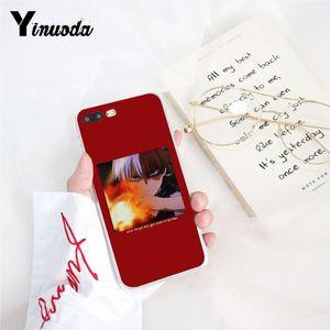 Yinuoda Sevimli My Hero Academia Anime Coque Shell Telefon Kılıfı iPhone 8 7 6 6S X XS MAX 5 5S SE XR 11 Pro Max için