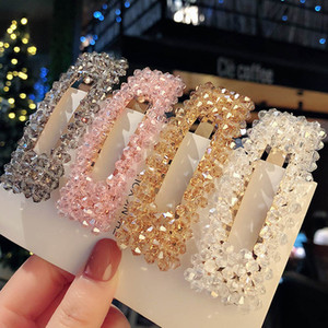 INS Moda Crystal Girls Play Clips Princess Kids Designer Play Clips Kids Barrettes Diseñador Accesorios para el cabello para niñas BB Clip A9323