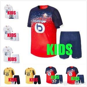 Kids kit 2019 2020 Lille fútbol casero Jersey de distancia losc verde 19 20 Pepe Remy BAMBA R.LEAO camisetas de niño maillot de calidad superior del pie