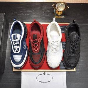 2020 sapatas do desenhador Preto Branco azul Cloudbust Trovão ata acima da sapatilha das mulheres dos homens personalizados da guarnição Moda Com leves externas Trainers