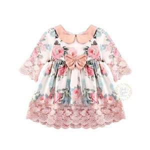 6M-5Y Flower Toddler Infant Baby Kid Girls Dress Princess Lace Tutu Party Wedding Birthday Holiday Dresses For Girls