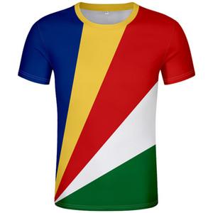 Сейшельские острова футболка diy free custom made name number syc футболка nation flag sc english country college print photo text clothing