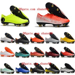 2020 nouveaux crampons de football mens Mercurial Vp XII chaussures de soccer PRO SG chaussures de football Mercurial Superfly de qualité supérieure cr7 scarpe calcio en plein air