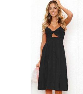 05LOVE Women Summer Dress Cross Designer Short Sleeved Candy Color Casual Dresses Ladies Designer Dresses