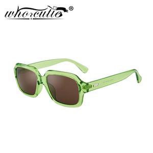 OMS CUTIE moda retro Chunky rectángulo gafas de sol de las mujeres 2020 90S Frame Marca azul con el diseño de la vendimia refrescan los vidrios de Sun Shades S284