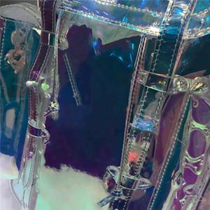 Spitzenverkauf 2019 neu Große Farbe Mode Umhängetasche groß Design Superkapazität, Regenbogen Ton sehr hell notwendig für die Reise