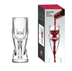 Crystal Wine Аэратор Wine Magic Decanter pourer set Премиум-графин для любителей вина с подарочным дорожным чехлом