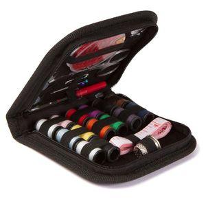 Trousse de couture bricolage Fournitures couture Zipper Portable Fournitures complètes Mini Sew Kit Mending Accessoires