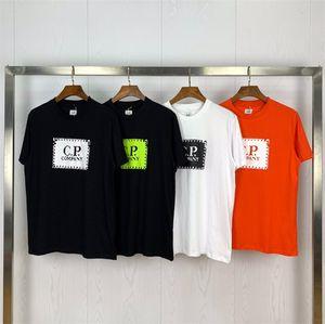 Yeni Geliş CP Tişörtlü Marka Erkek T Shirt Şirket Tasarımcı Tshirt Erkekler Kadınlar CP Kıyafet Lüks Tees Cp Coats Yaz İlkbahar Kazak 2041601Q