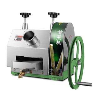 Ticari manuel şeker kamışı sıkacağı makinesi küçük masaüstü paslanmaz çelik el şeker kamışı sıkacağı makinesi şeker kamışı suyu maki ...