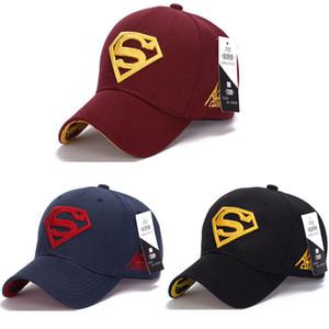 Супермен кепка Бейсбол дальнобойщик новая мода супергерой DC Comics Гольф регулируемые спортивные шапки