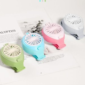Mini Watch Fan Portable Portable USB Charging Handheld Small Fan Kids Gift Summer Cooling Fan for Office Travel Home Decor GGA3435-5